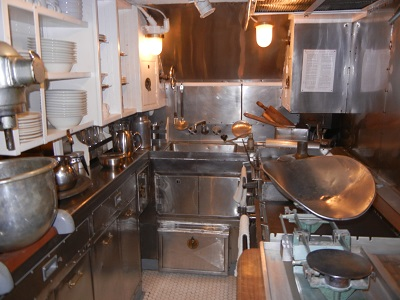 Submarine galley