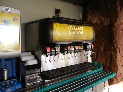 Ulu Cafe drink station