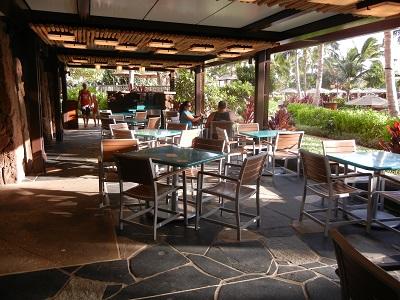 Ulu Cafe seating