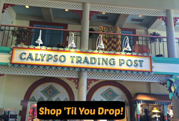 A Recent Shopping Spree at Calypso Trading Post at Disney's Caribbean Beach Resort!