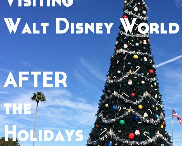 The Joy of Visiting Walt Disney World AFTER the Holidays
