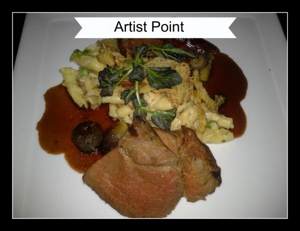 Dinner at Artist Point