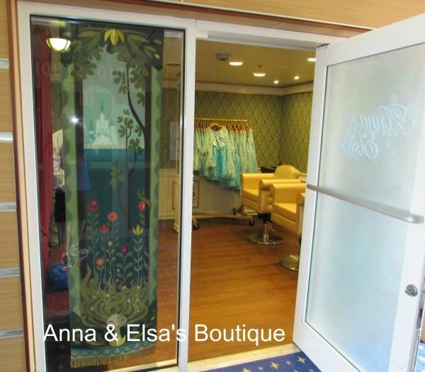 Through this door magic happens! & Disney Magic - Anna u0026 Elsau0027s Boutique