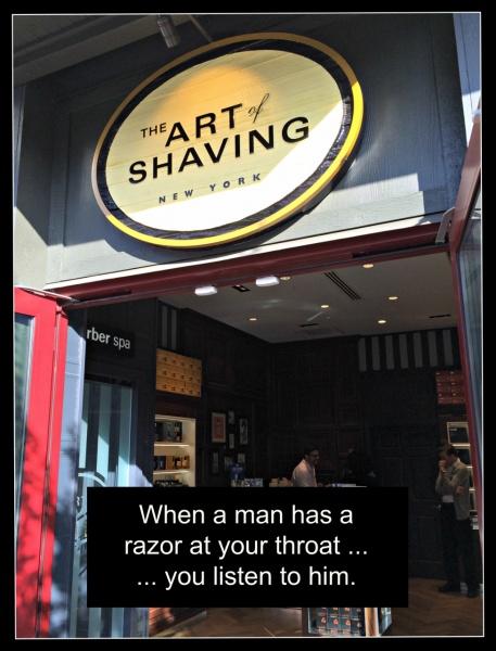 The Art of Shaving Chris
