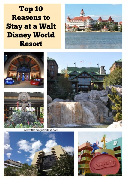 Top 10 Reasons to Stay at an On-Site Walt Disney World Resort