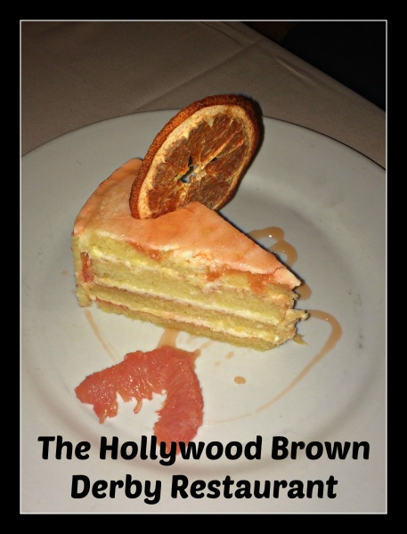 A Delightful Lunch at The Hollywood Brown Derby