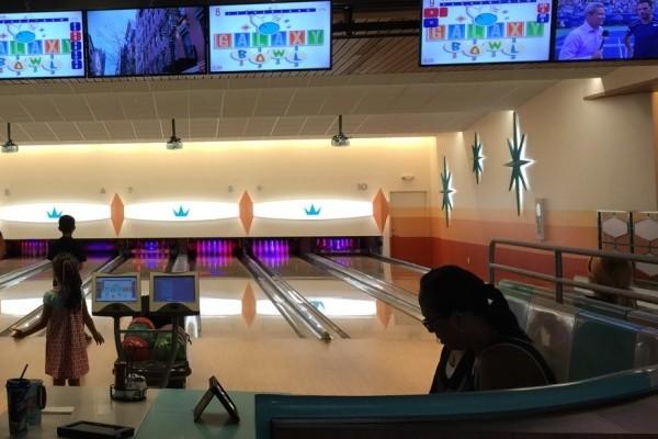 Bowl as a Family at Cabana Bay's Bowling Center