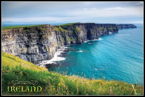 The beautiful Emerald Isle!