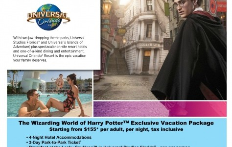 The Wizarding World of Harry Potter  Package – Universal Orlando Resort