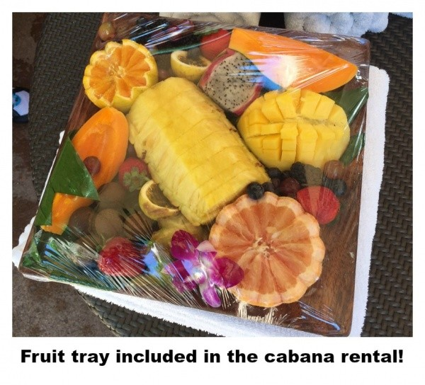 Aulani-Fruit Tray