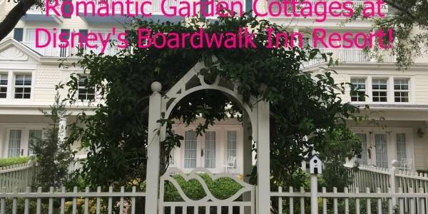 Garden Cottages at Disney's Boardwalk Inn Resort – Hidden Gems!