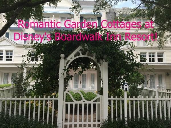 Garden Cottages At Disney S Boardwalk Inn Resort Hidden Gems