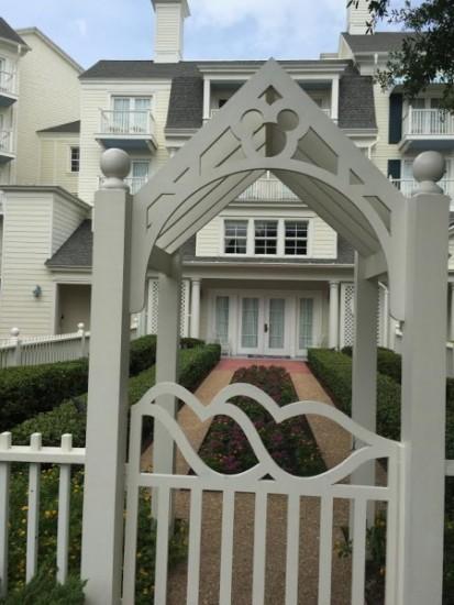 Garden Cottages At Disney S Boardwalk Inn Resort Hidden