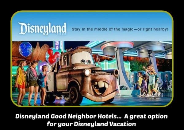 Disneyland Good Neighbors