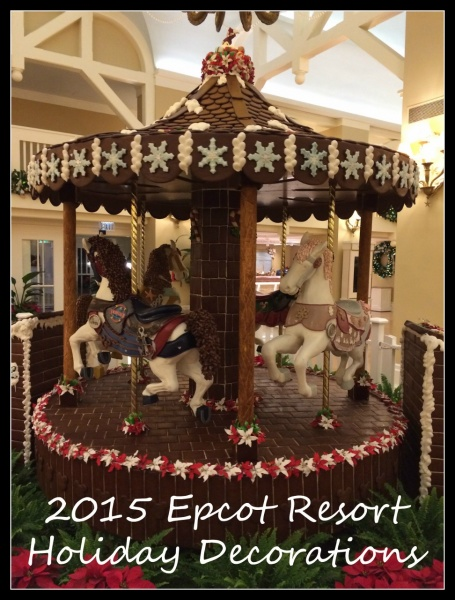 2015 Epcot Resorts Holiday Decorations Tour!