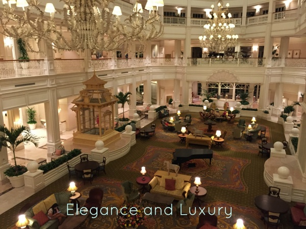 Why I love the Grand Floridian Lobby!