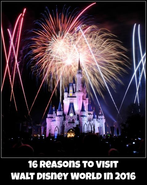 16 Reasons to Visit  Walt Disney World  In 2016