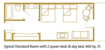 Disney S Beach Club Rooms Layout