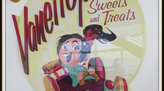 Irresistible Treats Inside Vanellope's Sweets!