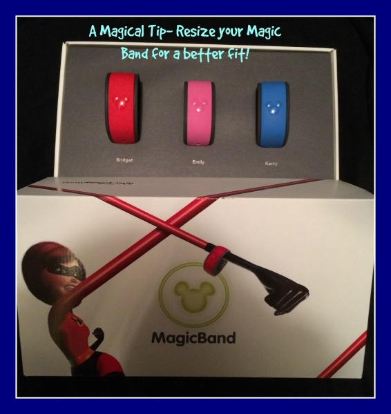A Magical Tip about your Magic Band!