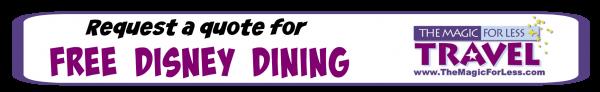 2016 Free Disney Dining