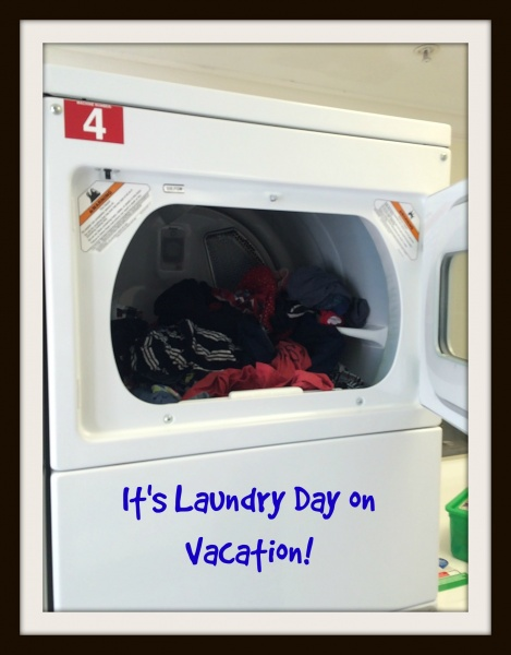 It's Time for Laundry… While On Vacation!