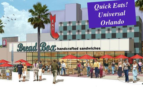 CityWalk Dining Options: Bread Box Handcrafted Sandwiches