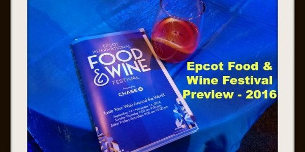 Epcot Food and Wine Festival 2016 Preview