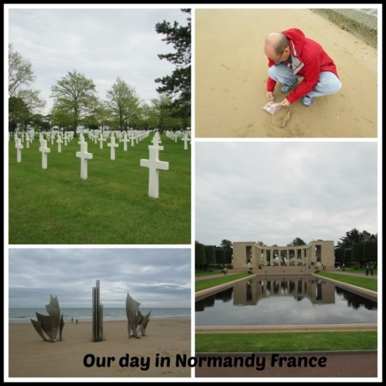 A visit to the landing beaches of Normandy is both humbling and amazing.