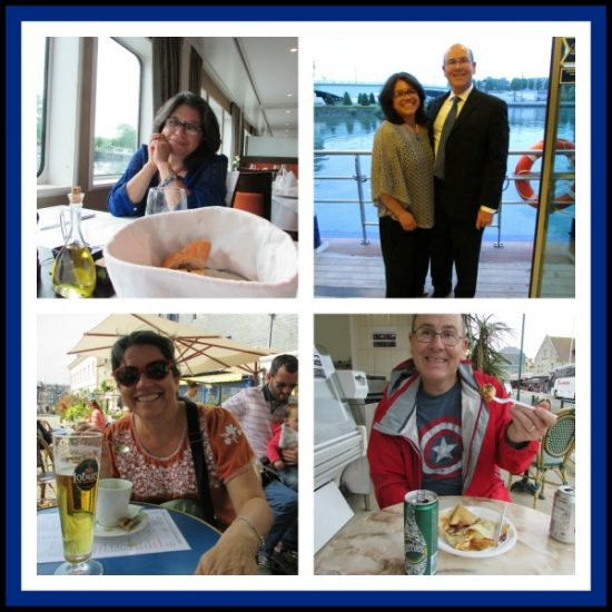 Casual dining onboard, Formal Night and sampling the local cuisine!