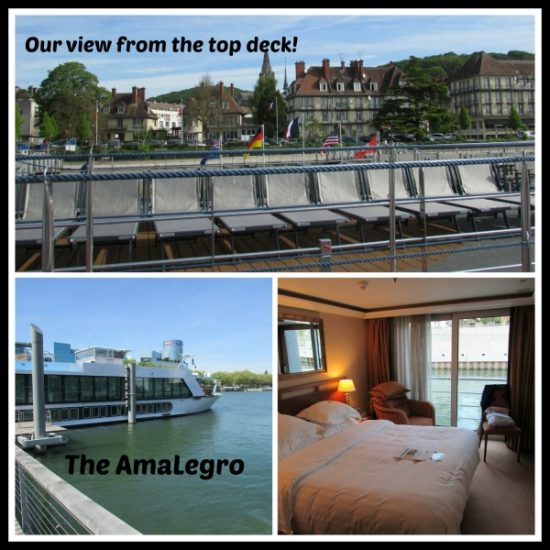 Our first river cruise aboard the lovely AmaLegro!