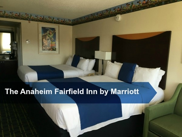 A Review of The Anaheim Fairfield Inn by Marriot