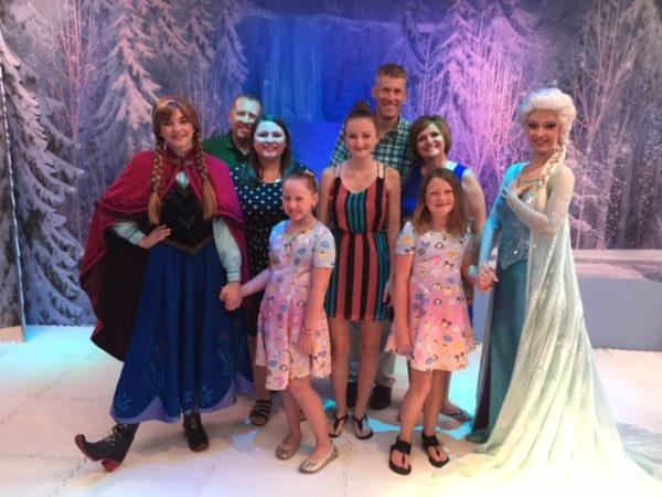 Anna & Elsa on Disney Cruise Line