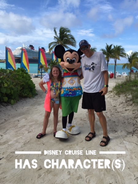 Disney Cruise Line has Character(s)!