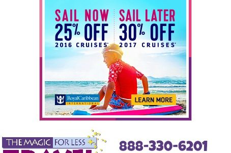 Still Time to Save on 2016 Royal Caribbean Cruises!