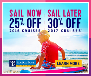Royal Caribbean Sail Now Sail Later Discount and Kid's Sail FREE!