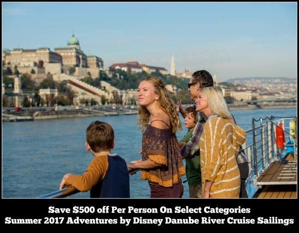 Summer 2017 Adventures by Disney Danube River Cruise Sailings Discount