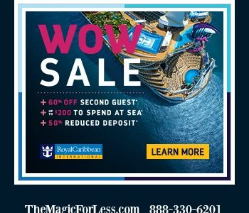 Royal Caribbean 60% Off Second Guest Special Offer