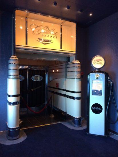 The Cadillac Lounge on the Disney Wonder