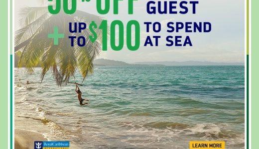 November Royal Caribbean BOGO Offer & Onboard Credit Too!