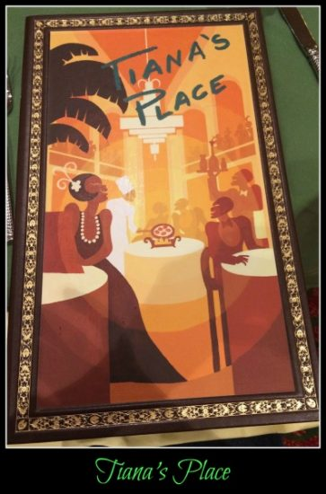 Tiana S Place On The Disney Wonder