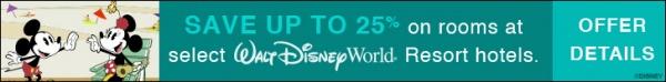 2017 Walt Disney World Spring Discount