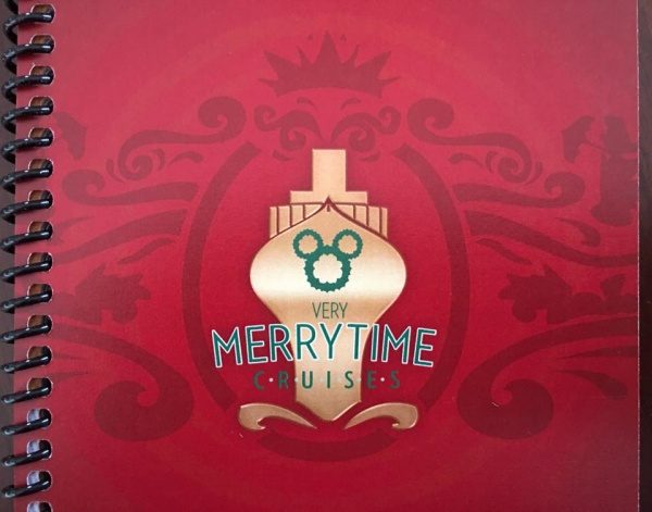 Disney Cruise Line Very Merrytime Cruise Travel Document - Cover Page Detail