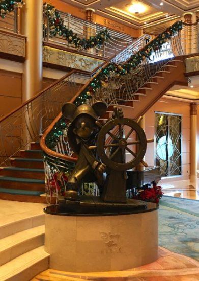Mickey Statue in the Atrium