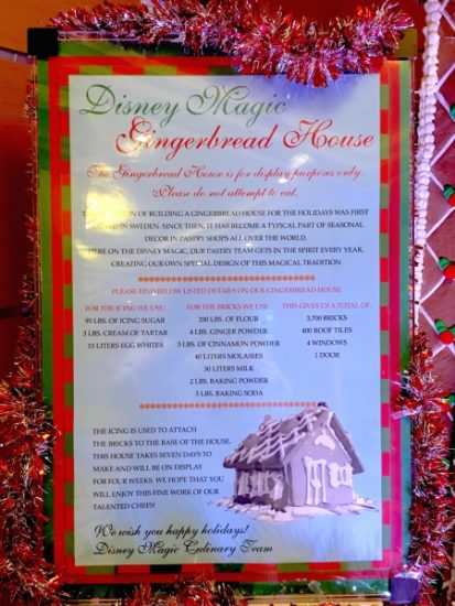 Gingerbread House Ingredients