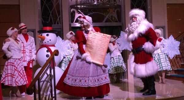 Disney Magic - Very Merrytime Cruise - Santa's Winter Wonderland Ball