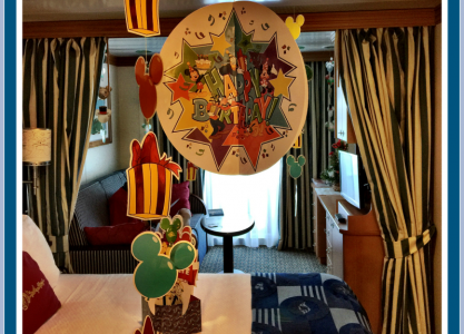 Disney Cruise Celebrate and Decorate Your Stateroom in Style!