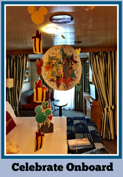 Disney Cruise Celebrate And Decorate Your Stateroom In Style