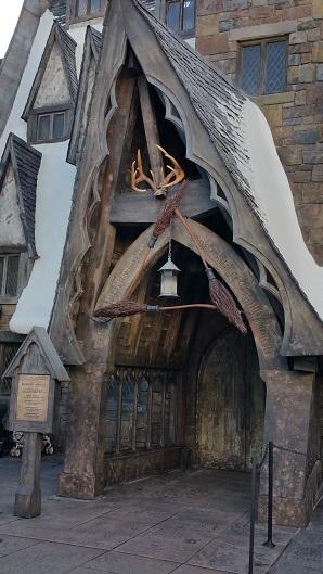 Three Broomsticks at Universal's Islands of Adventure