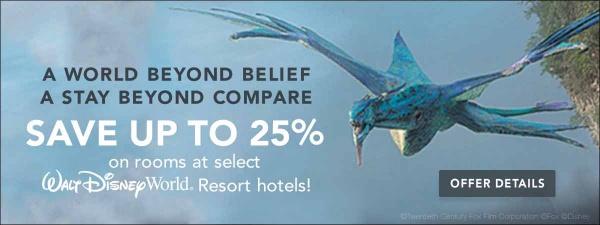 Summer Walt Disney World Vacation discount code save 35%